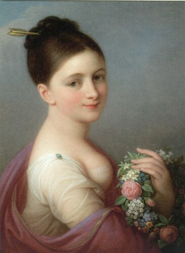 ~~~ ORGINAL~~~ POSTKARTE ~~~ Luise Prinzessin von Sachsen-Coburg-Altenburg