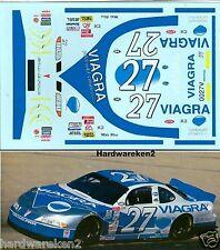 NASCAR DECAL #27 VIAGRA 2000 PONTIAC GRAND PRIX MIKE BLISS -1/24 Scale