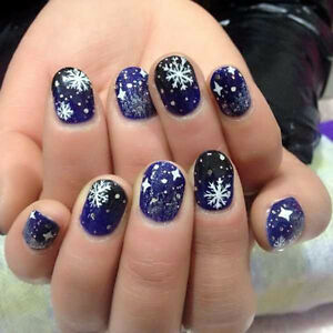 3d nail art stickers decals decorations christmas tree snowflake image is loading 3d nail art stickers decals decorations christmas tree prinsesfo Gallery