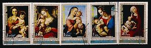 188-Guinea-Equatorial-5-Paintings-Canceled-On-the-Nativity-1971