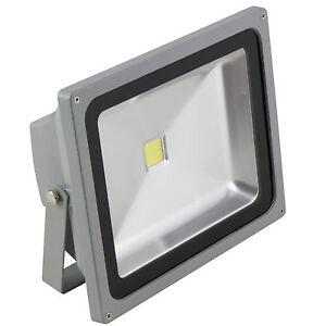 50w led fluter ip65 230v fluchtlicht au en leuchte au enstrahler scheinwerfer ebay. Black Bedroom Furniture Sets. Home Design Ideas