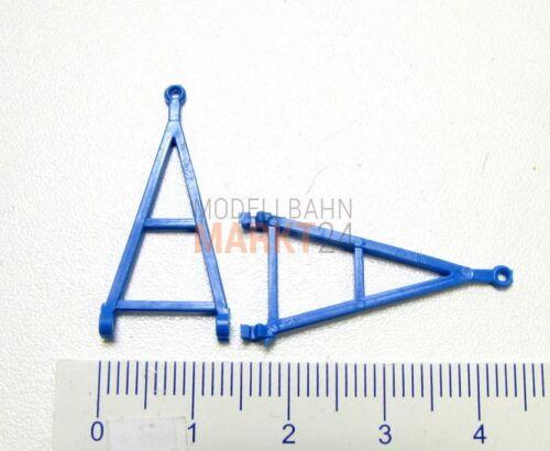 2 x albedo repuesto enormemente lanza zuggabel azul para remolques h0 1:87-2479