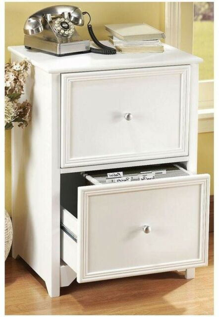 Beau Home Decorators Collection 2 Drawer Wood File Cabinet White Office Furniture