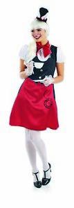 Womens-White-Miss-Rabbit-Costume-S-L-Ladies-Storybook-Tea-Party-Fancy-Dress