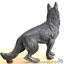 Large-22cm-German-Shepherd-bronze-effect-ornament-figurine-Alsatian-lover-gift thumbnail 4