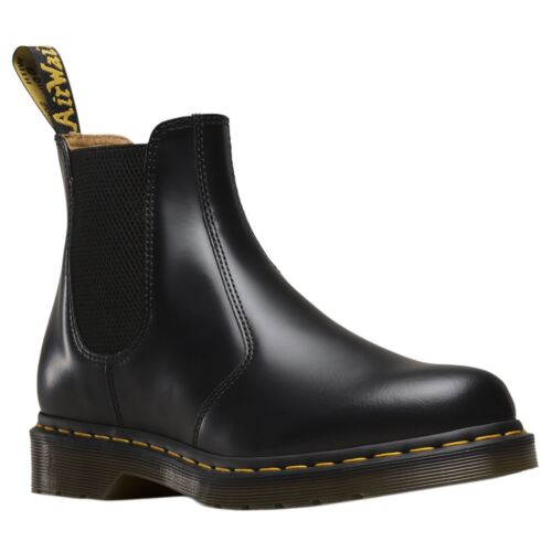 Dr.Martens 2976 Black Womens Leather Chelsea Twin Gussets Pull On Ankle Boots by Ebay Seller
