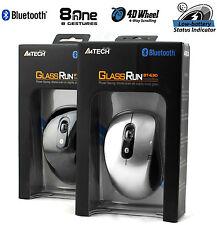 A4TECH bt-630d Mini Bluetooth Mouse Ottico Per Laptop 1000DPI-Argento