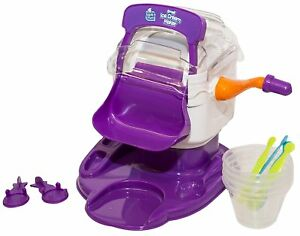 ICE CREAM MAKER SAMBRO TASTE N FUN SMALL CHILDRENS KIDS TOY MADE IN MINUTES NEW