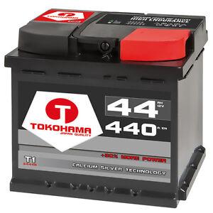 autobatterie 12v 44ah starterbatterie ersetzt 36ah 42ah. Black Bedroom Furniture Sets. Home Design Ideas