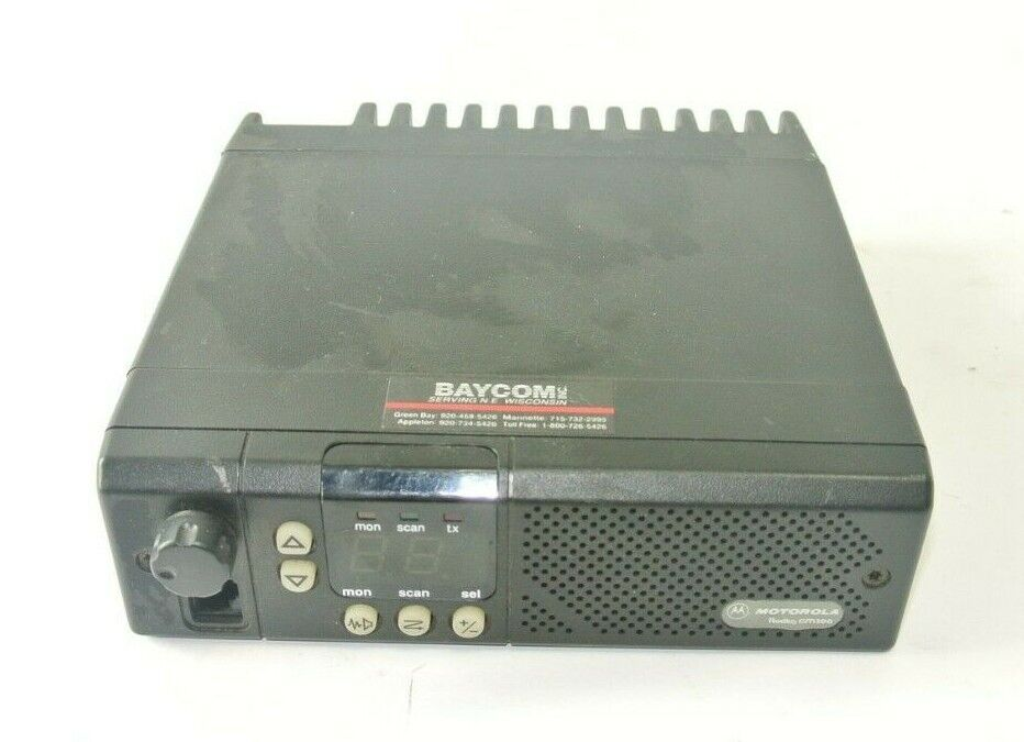 Motorola Radius GM300 MN M43GMC20D2AA - VHF - 45 W - 8 Channel. Available Now for 79.99