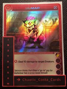 Random Stats Ulmar Super Rare Foil Chaotic Card