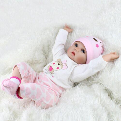 Reborn realistica BAMBOLA BABY vinile morbido silicone Neonato Bambola Regalo di Natale