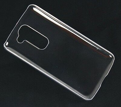 New Glossy Crystal Clear Transparent Hard Plastic Back Case Cover For LG G2 Mini