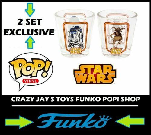 Funko Star Wars lot de deux verres de cure-dents titulaire R2-D2 SALACE Crumb