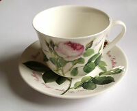 ☼ Roy Kirkham Redoute Roses Jumbotasse mit Untertasse 400 ml Porzellan neuwertig