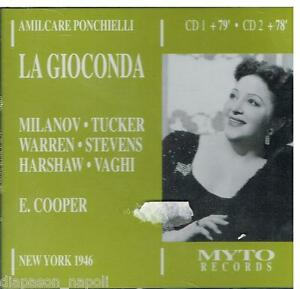 Ponchielli-La-Gioconda-Milanov-Tucker-Warren-Met-1946-CD-Myto