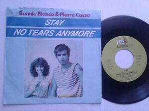 Bonnie-Bianco-Stay-7-034-Vinyl-Single-1987-mit-Schutzhuelle