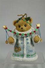 Cherished Teddies 2013 Dated Bell Ornament  'You Put The.. #4034599 New In Box