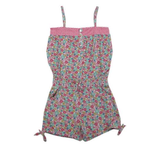 Jubel Pantaloni Corti Top Onepiece Jumpsuit Multicolore RAGAZZA TG 104,116,128