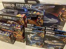 Star Trek KRE-O Collection: 9 Sets: U.S.S. Enterprise A3137 and More!