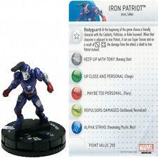 MARVEL HEROCLIX FIGURINE IRON MAN 3 MOVIE : Iron Patriot #003