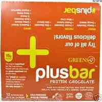 Greens Plus Plusbar Chocolate Protein Nutritional Healthy Snacks Daily Food