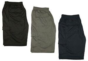 KAM-Mens-Big-King-Size-New-Cargo-Combat-Shorts-Elasticated-Waist-Sizes-2XL-8XL