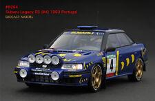1:43 HPI DIECAST #8294 Subaru Legacy RS (#4) 1993 Portugal