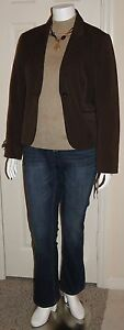 Womens Casual Fall Plus Size 16/18 XL Clothing Lot Top Jeans Jacket Necklace