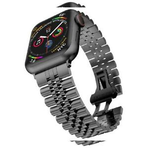 Baozai Compatible With Apple Watch Band Series 5 44mm 44mm 42mm Space Gray Ebay