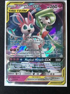Gardevoir /& Sylveon GX  130//214 Half Art SM Unbroken Bonds Pokemon