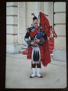 POSTCARD THE SCOTS GUARDS  PIPE MAJOR LONDON 1897 - Tadley, United Kingdom - Full Refund less postage if not 100% satified Most purchases from business sellers are protected by the Consumer Contract Regulations 2013 which give you the right to cancel the purchase within 14 days after the day you receive th - Tadley, United Kingdom