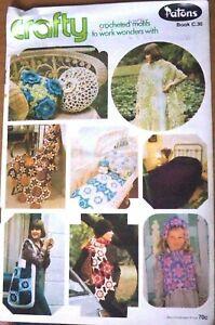 Patons-Crochet-Book-No-C-30-C30-Crocheted-Motifs