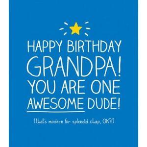 Froh Jackson Karte Alles Gute Zum Geburtstag Opa Opa Neu Cello