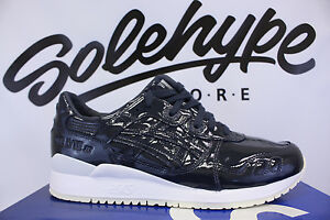 918cb4eadfe ASICS GEL LYTE III 3 PATENT LEATHER INDIA INK H7H1L 5858 SZ 8.5