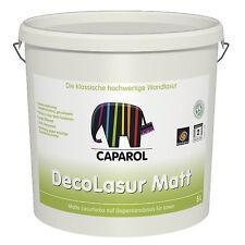 Caparol Deco-Lasur matt  2,5 Liter - Lasurfarbe auf Dispersionsbasis-