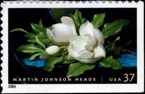 2004 37c Martin Johnson Heade, American Painter Scott 3