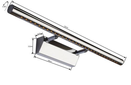 Wandlampe LED MOD-B-57  Bilderleuchte Spiegelleuchte 55//70 cm Lampe Bilderlampe