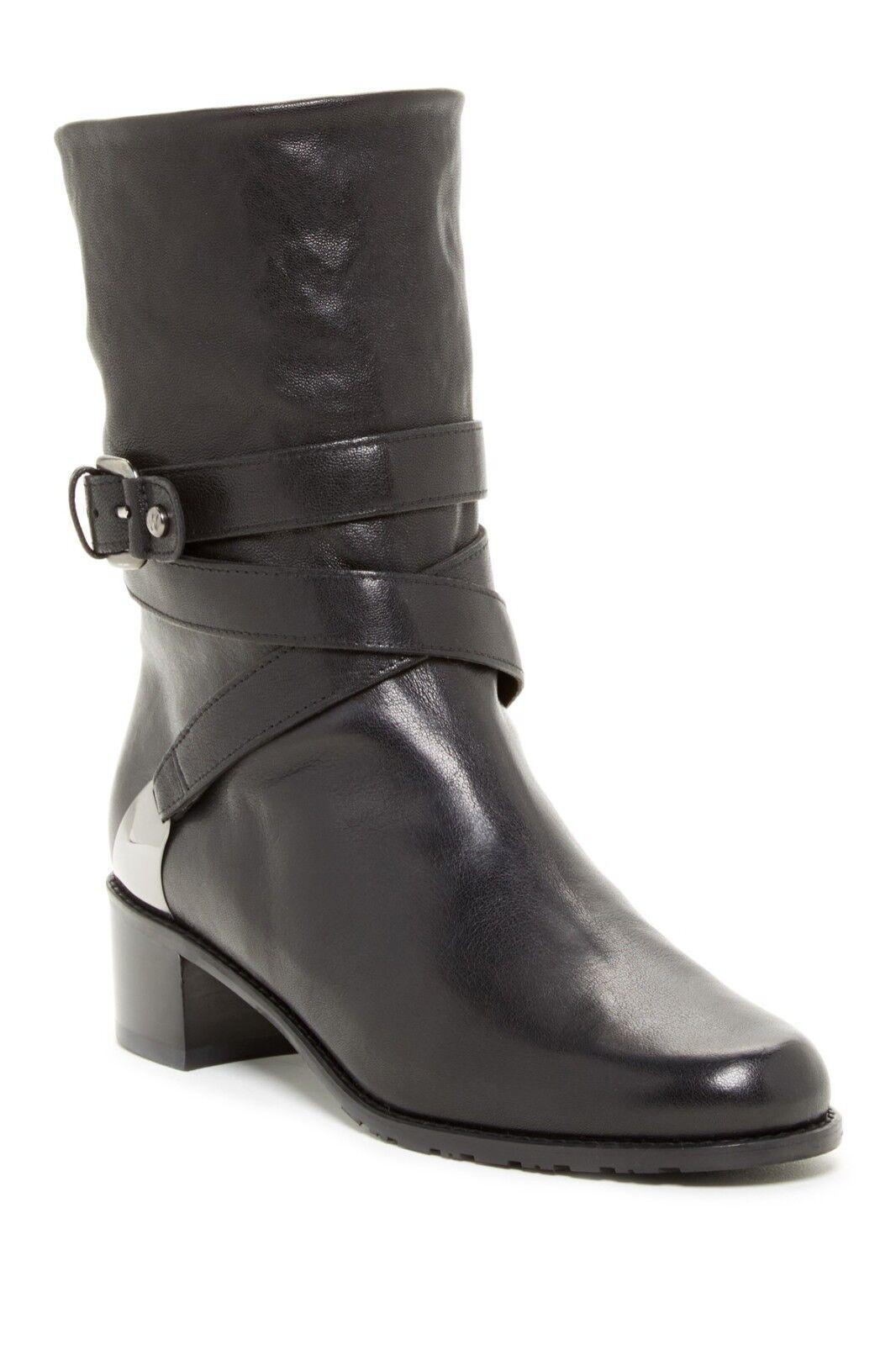 Stuart Weitzman Ranch Dressing Moto Boot - Size 40.5 -  535