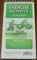 Exercise Activity Record Book - Achieve Your Fitness Goals - Brand