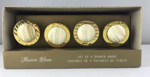 Set of 4 Drawer Knobs Brand New Mason Bleu