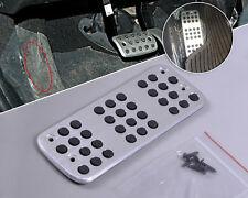 Silver Aluminum Sale Sport Foot Rest Footrest Pedal Fit For Peugeot 206 206CC