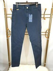 liberar información sobre bueno muchos de moda Details about Zara Man Men's Skinny Fit Chino Pants Size 30 US Navy Stretch  Trouser Pants NWT
