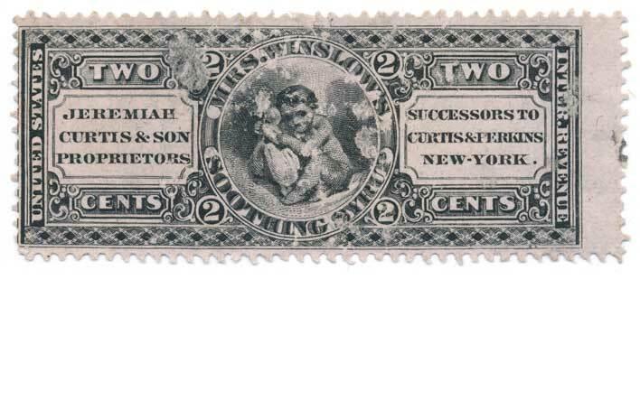 Jeremiah Curtis & Son U.S. Internal Revenue 2c RS68c Pr