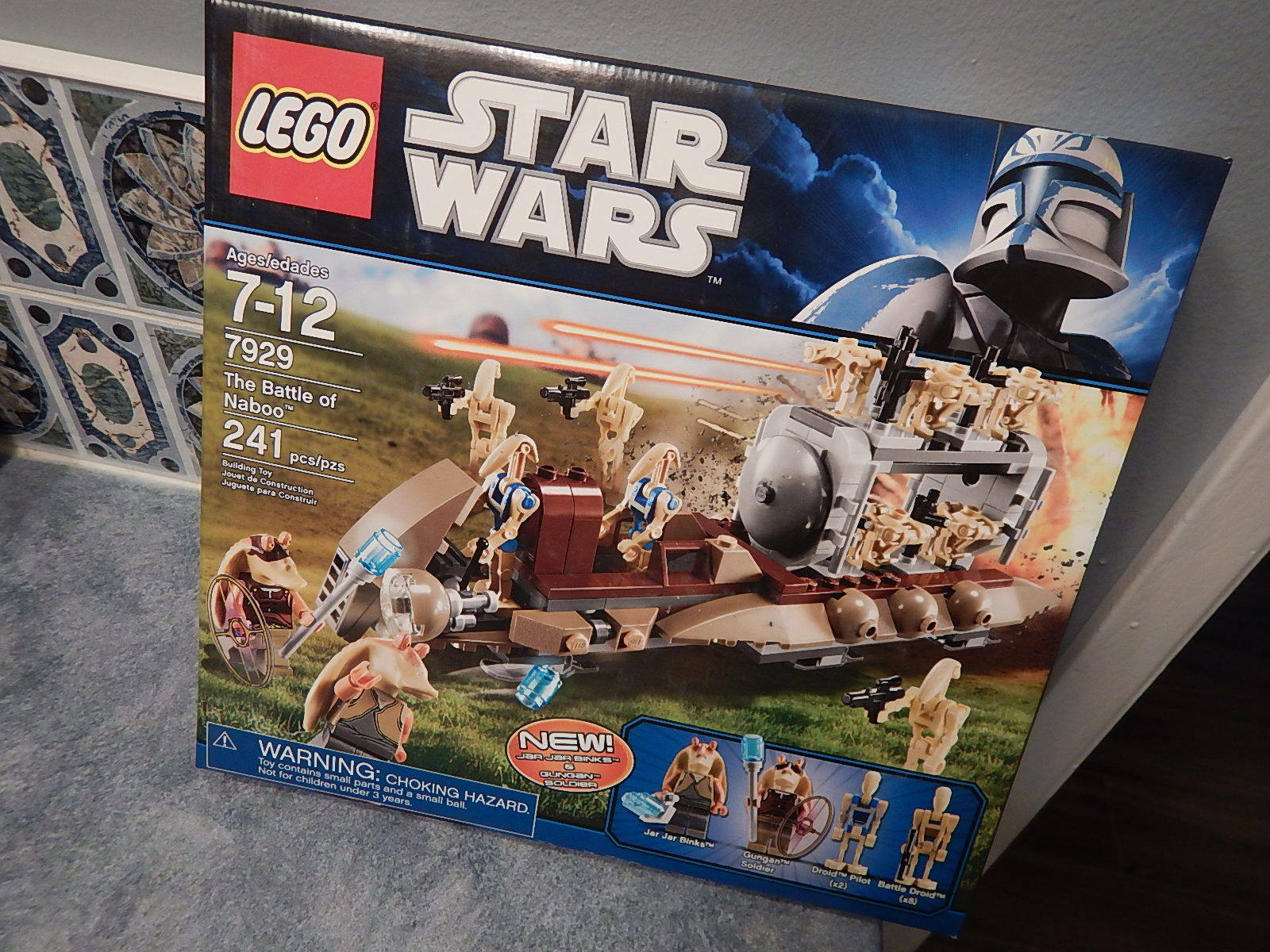 New Lego Star Wars 7929  The Battle of Naboo w/ 12 Minifigs