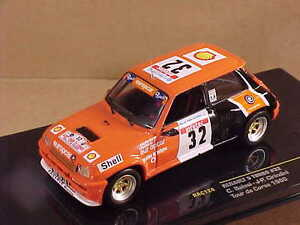 Ixo #rac124 1/43 de metal Renault 5 Turbo 1986 / 30th Tour Corse carcasa #32