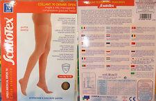 COLLANT 70 denari punta aperta Scudotex compressione 15-18mmHg pantyhose 70 open