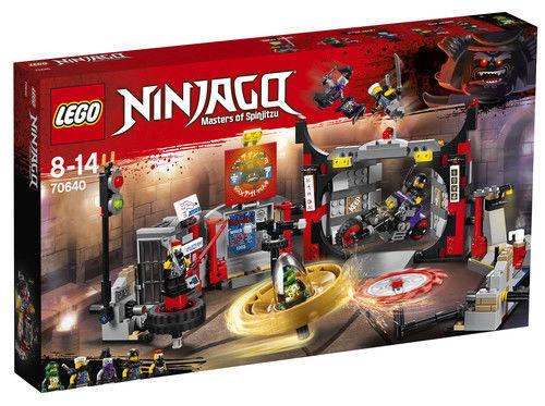 LEGO Ninjago S.O.G. Headquarters 2018  70640