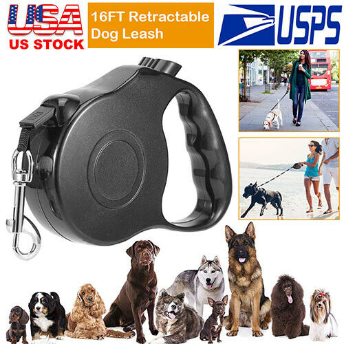 Dark Gray Dual Headed Retractable for Cat Dog Dog Leashes Traction Rope