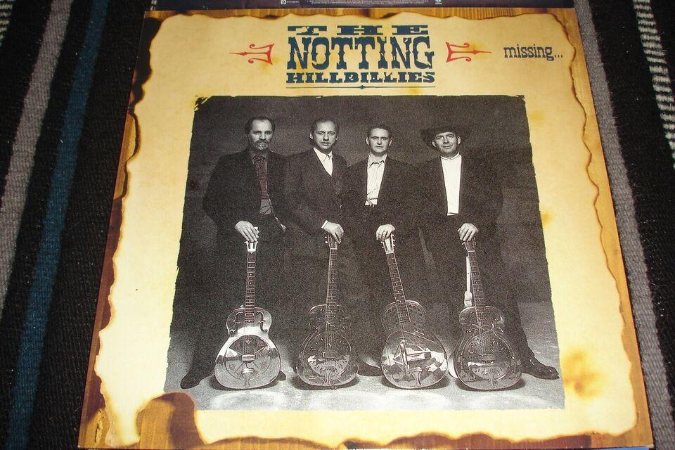 LP, The Notting Hillbillies, Missing...Presumed Having A